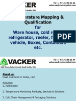 Temperature Mapping Study and Qualification | Vacker UAE