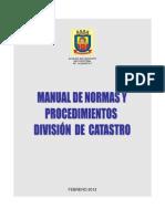 Manual Completo Catastro 2012