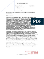 NSA Intelligence Relationship with Saudi Arabia