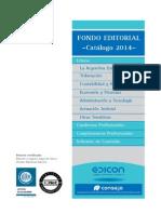 Catalogo Edicon2014 MARZO