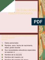 Informe de Evaluacion Psicopedagogica