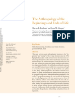 Anthropology of the Beginnins and Ends of Life - Sharon Kaufman and Lynn Morgan