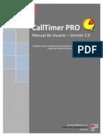 CallTimer PRO Manual de Usuario Versión 2