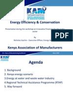 Energy Audits & Energy Efficiency - Kam