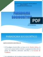 Paradigma Socio-Crítico. Revisado ZF (1)