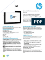 HP Tablet E0016
