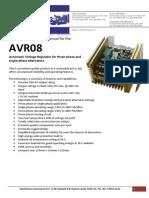 AVR08 Macgen Installation Manual