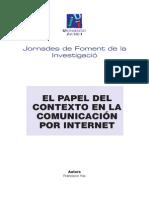 El Papel Del Contexto en La Comunicación Por Internet.