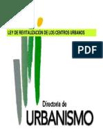 Ley de Revitalizacion de Los Centros Urbanos Por La Directo (1)