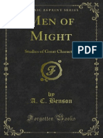Men of Might Studies of Great Characters 1000575564