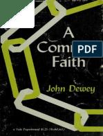 1 a Common Faith