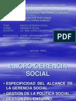 Macro Gerencia Social