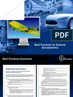 Aerodynamics Best Practices 8.02
