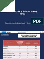 Indicadores Financieros 2013