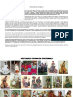 Vestuarios de Guatemala