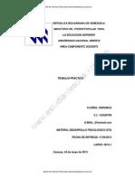 Modelo Trabajo de Desarrollo Psicologico (570) 2013-1