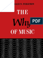 Why of Music Dialogues in an Unexplored Region of Appreciation