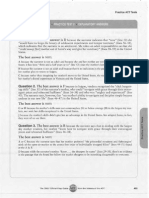 ACT 2 Explanatory Answers - Reading
