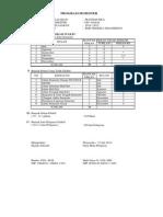 Program Semester 1 Matematika Kelas VII 2014-2015