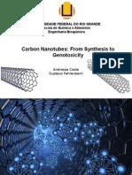 Carbon Nanotubes - Apresentação