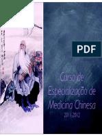 Curso Especialização de Medicina Chinesa - Guia Aluno 2011-2012