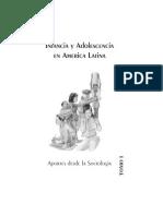 Infancia y Adolescencia en America Latina Tomo I