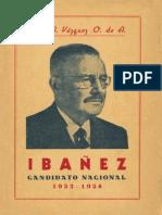 Ibáñez Candidato Nacional 1952-1958