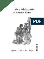 Infancia y Adolescencia en America Latina Tomo II