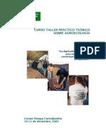 Curso Taller Práctico Teórico Agroecología