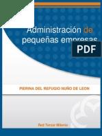 Administracion de Pequeñas Empresas