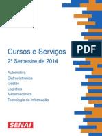 Catalogo_2ºSemestre-2014 Senai
