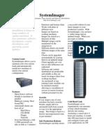 Systemimager Datasheet 1.5.0