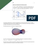 Calculo Intrgral Volumen Metodo de Las Arandelas