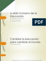 El Lado Humano de La Educación