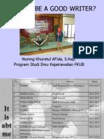 Bismillah Materi SWC
