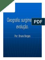 2009 - Correntes Da Geografia i