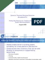 CTG Broadband TV Offering - Aug'09