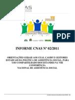 Orientações Para Uso Dos Estandes Pelos Conselhos e Gestores-Informe CNAS 002