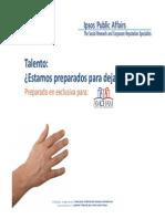 Estudio IPSOS 2013 Retención Laboral