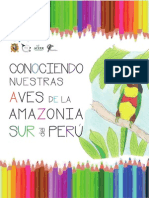 Aves Amazonia Sur