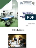 Estandares Desinfección, Descontaminación y Esterilización