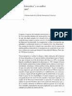 Critica a La Paz Democratica en Suramerica