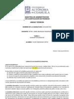 Tarea 1 Estadistica 2014