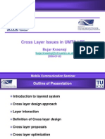 Cross Layer Issues in UMTS-LTE
