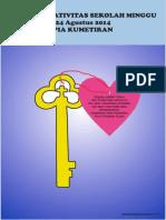 Bahan Kreativitas Sekolah Minggu 24 Agustus 2014 PIA Kumetiran