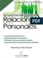 Relaciones Personales Como Jesus