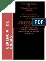 Creacion Del Parque en El a.h. Las Delicias Mz 27 Lt 01 Ancash