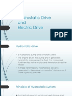 Hydrostatic and Electric Drive