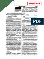 Decreto de Urgencia Nº 001-2014