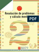 Resoluci¾n de problemas y cßlculo mental 2